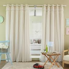 World Market Smocked Curtains by Romantic As Cinderella U0027s Ballgown The Decorinnovation Sheer