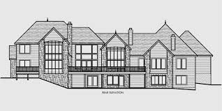 Four Car Garage House Plans Luxury House Plans Master On The Main House Plans 10080
