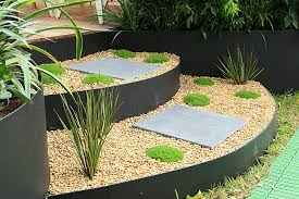Landscape Edging Metal by Garden Bed Edging Inspirations To Boost Your Landscaping Beds