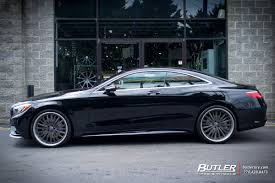 mercedes s class wheels mercedes s class coupe with 22in lexani lf722 wheels fly autos