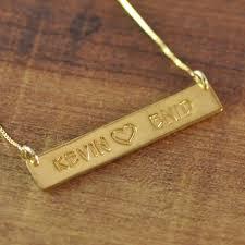 custom necklace pendant 35 best custom bar necklace images on drop necklace