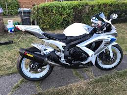 suzuki gsxr 600 k8 2008 limited edition white in salisbury