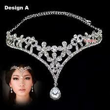 fashion tiara crown hair accessories for wedding