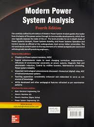buy modern power system analysis book online at low prices in