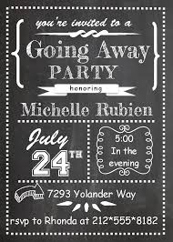 going away party invitations going away party invitations fall 2014 memories of s meals