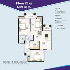 Mandir Floor Plan by Panchsheel Group U2013