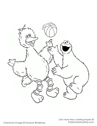 big bird coloring page classic with photos of big bird 36 6665