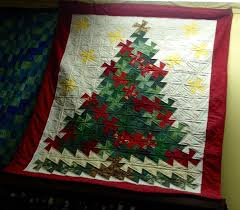 lil twister christmas tree quilt wallhanging