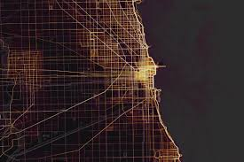 Chicago Marathon Map New Heat Map Shows Chicago U0027s Favorite Running Cycling Routes