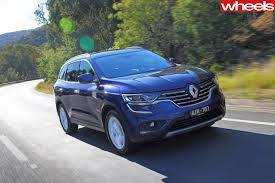 renault suv 2016 2016 renault koleos video review wheels