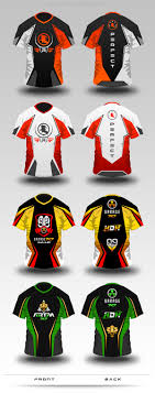 game design baju online gaming jersey mock up by superpencil graphicriver