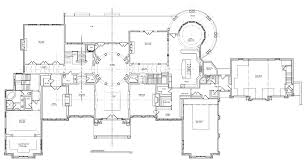 Level Floor Luxury Chateau Mansion Floor Plans