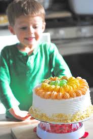 cake decorating made easy thanksgiving cake idea lemonade