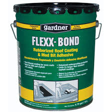Home Depot Office Georgia Gardner 4 75 Gal Flexx Bond Rubberized Roof Coating And Mb
