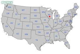wisconsin map usa where is wisconsin map