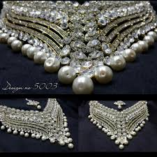 pearl necklace wedding jewellery images Indian bridal pearl necklace sets buy indian bridal pearl jpg