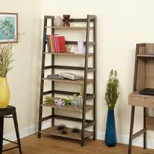Iron And Wood Bookcase Rustic Bookshelves U0026 Bookcases Shop The Best Deals For Nov 2017