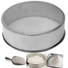 tamis cuisine professionnel tamis à farine gâteaux pâtisserie en inox passoire sucre maille
