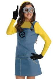 minion costumes minion costume look despicably yellow