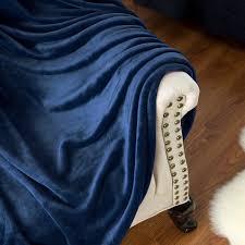 43 Cozy And Warm Color by Amazon Com Flannel Fleece Luxury Blanket Navy Queen Size