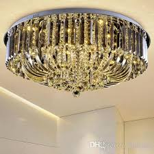 Modern Crystal Chandeliers Dimmable Modern Crystal Chandeliers High Class K9 Crystal Led