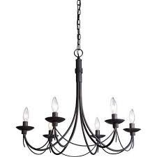 Chandelier Metal Black Metal Chandelier House Furniture Ideas