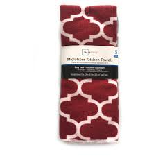 kitchen towel set walmart towel mainstays 5 piece kitchen towel set 3 sets walmart com walmart 554230031