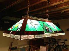 stunning 40 u0027 stained glass billiard pool table lamp this lamp has