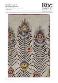 peacock light bright rugs contemporary rugs shop collection