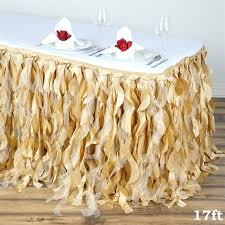 Table Skirts 17 Ft Long X 29