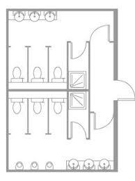 Public Bathroom Dimensions Public Toilet Cad Drawing Cadblocksfree Cad Blocks Free