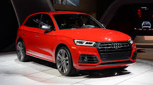 the 2018 audi sq5 looks mean and switches to turbo power autoblog