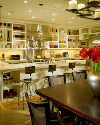 Restaurant Open Kitchen Design by Open Kitchen Cabinets Are Easier To Handle