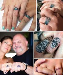tattoo wedding rings u2013 jewelry secrets