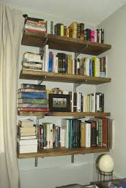 Wall Mounted Bookshelves Diy by Furniture 20 Images Wonderful Diy Minimalist Wooden Built In