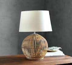 Pottery Barn Lamos Table Lamp Blue Coral Table Lamps Pottery Barn Entrancing