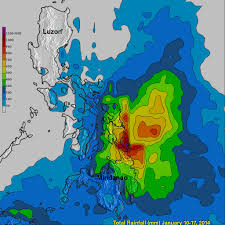 Rainfall Totals Map Satellite Calculates System 91w U0027s Deadly Philippine Flooding