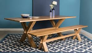 grange dining table natural oak
