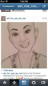 this 13 year old named talia joy has 2 cancers in one body she puts videos