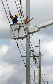 fpl street light program fpl to replace wood light poles in delray project will affect