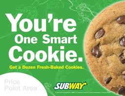 Order Cookies Order Cookies By The Dozen Picture Of Subway Elwood