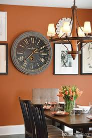 bold burnt orange tone of sherwin williams u0027 copper mountain paint