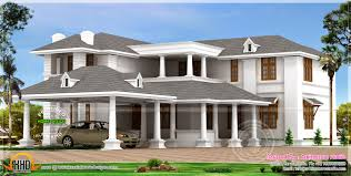 Luxurious Home Plans by Big Luxury Home Design Kerala Home Design And Floor Plans Big