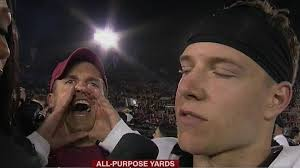 Meme Yelling - sb nation on twitter yelling stanford fan is the first sports meme