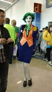 Womens Joker Halloween Costume 25 Female Joker Ideas Female Joker