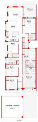 Narrow Lot Duplex Floor Plans by 18 Best Dual Images On Pinterest House Design Crossword And