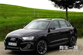 audi q3 modified suv remodeling image gorgeous turn audi q3 modified version