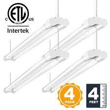 commercial electric 3ft led shop light 36w 4ft led utility shop lights for garage bbounder hanging lighting