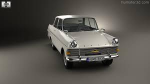 opel olympia 1970 360 view of opel rekord p2 2 door sedan 1960 3d model hum3d store
