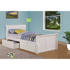 Twin Beds With Drawers Ne Kids Lake House Payton Arch Poster Bed Hayneedle